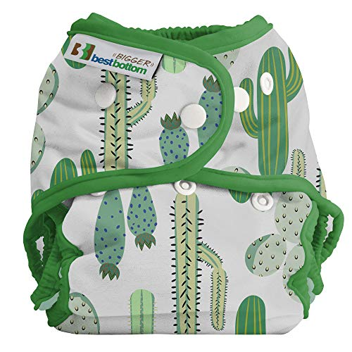 Bigger Best Bottom Reusable Cloth Diaper, Prickly Cactus