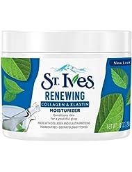 St. Ives Renewing Collagen & Elastin Moisturizer, 10 oz (Pack of 4)