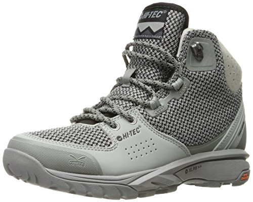 Hi-Tec Womens V-Lite Wildlife Mid i Backpacking Boot Grey/Black d0Bzrb
