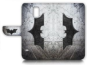 Samsung Galaxy S5 Flip Wallet Case Cover & Screen Protector Bundle! A6324 Batman at Gotham City Store