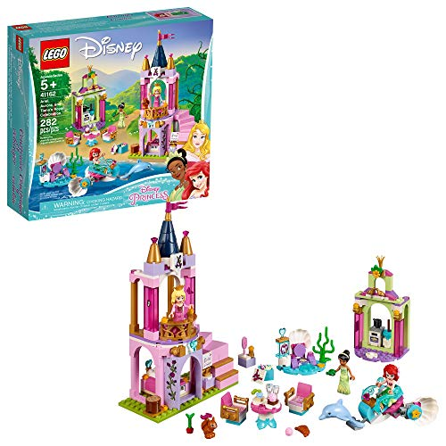 LEGO Disney Aurora, Ariel and Tiana's Royal Celebration 41162 Building Kit, New 2019 (282 -