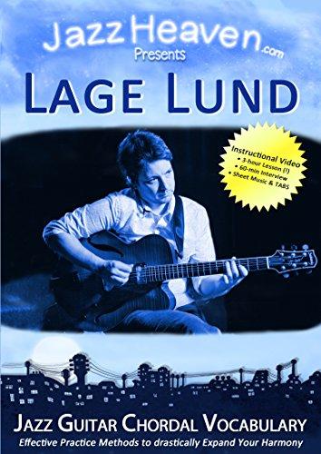 Jazz Guitar Lesson DVD Lage Lund Jazz Guitar Chordal Vocabulary Harmony Improvisation Learn Video ()