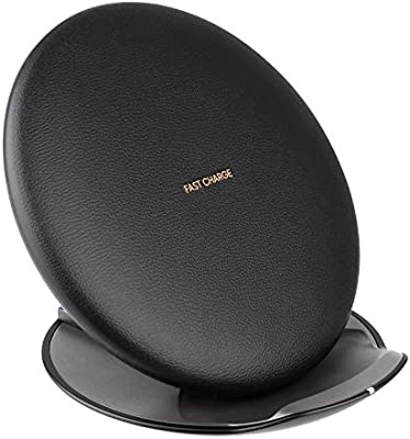 Samsung Fast Charge Wireless Charging Convertible Stand Black EP-PG950 S8 G6SR (Renewed)
