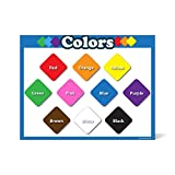 Best Read With Colors Charts - Colors learning chart LAMINATED poster teachers and educators Review