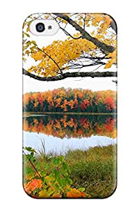 Hot ICtGpfa9524quzXl Reflection Tpu Case Cover Compatible With Iphone 4/4s
