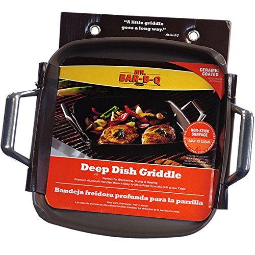 MR. BAR-B-Q Ceramic Deep Dish Griddle