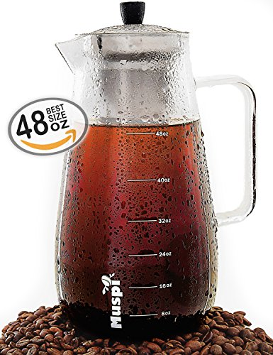 Large Cold Brew Coffee Maker product image