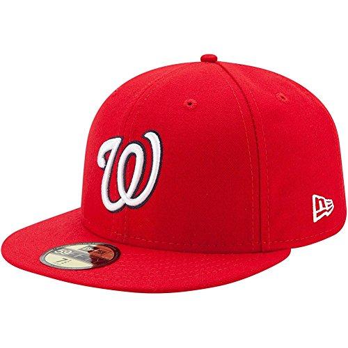 New Era Cap Co,. Inc. Men's 70357719, Red, 7.5