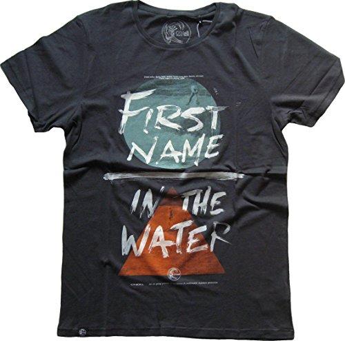 O´Neill Originals First Herren T-Shirt Pirate Black Größe S