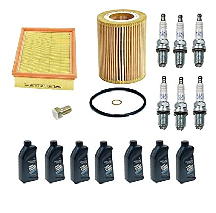 Amazon com: BMW E46 E39 OEM Tune-up Kit NGK Spark Plugs Mann Oil +