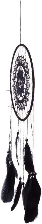 DuDuDu Capteur de r/êves en dentelle noire chaude Dream Catcher Wind carillons d/écoration de la maison nouveau cadeau fille noire