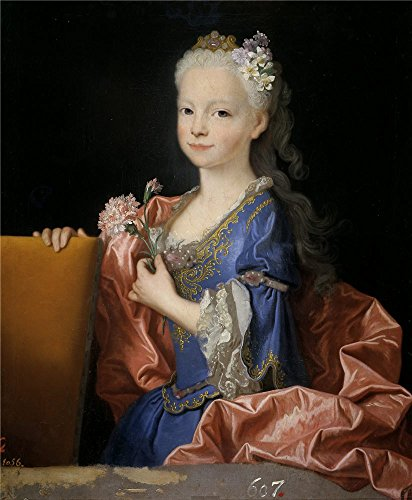 ['Ranc Jean Maria Ana Victoria De Borbon Nina (futura Reina De Portugal) 1725 ' Oil Painting, 8 X 10 Inch / 20 X 25 Cm ,printed On High Quality Polyster Canvas ,this High Resolution Art Decorative Canvas Prints Is Perfectly Suitalbe For Nursery Gallery Art And Home Decoration And] (Cobra Kai Costume Large)