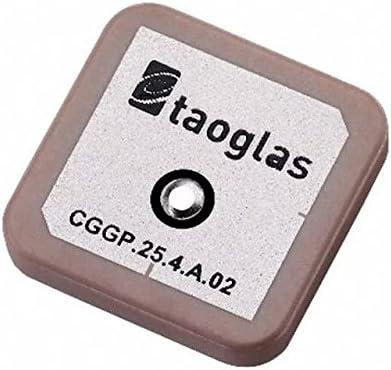 Taoglas cggp. 25.4.a.02 antena de GPS/GLONASS, pines Fed ...