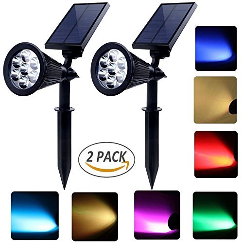 Wired Solar Spot Lights in US - 4