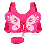 : EPLAZA Baby Toddler Walking Safety Butterfly Belt Harness with Leash Child Kid Assistant Strap (a)