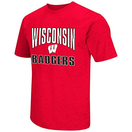 Wisconsin Badgers State Your Name T-Shirt - Men - L