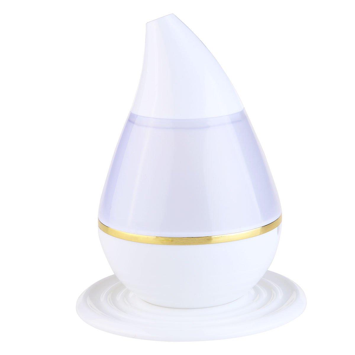bestomz 200ml Luftbefeuchter Ätherische Öle, alfloia Aroma Diffusor Ultraschall Mist Kalten 7Farben LED, Luftreiniger