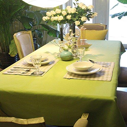vert 140x140CM Nappe Petit Frais Vert Linge De Table Couverture De Table à Café Style Européen Hôtel Toile De Couverture,vert-140x140CM