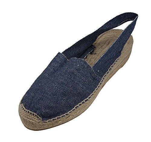 Alpargatus - Espadrilles Low Heel Jeans 7faolM4h0