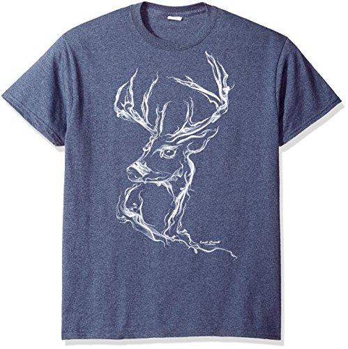 lost-creek-mens-deer-smoke-series-short-sleeve-t-shirt-heather-navy-2xl