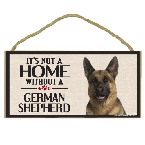 (Imagine This Wood Sign for German Shepherd Dog Breeds)