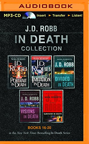 J. D. Robb In Death Collection Books 16-20: Portrait in Death, Imitation in Death, Divided in Death, Visions in Death, Survivor in Death (In Death Series)