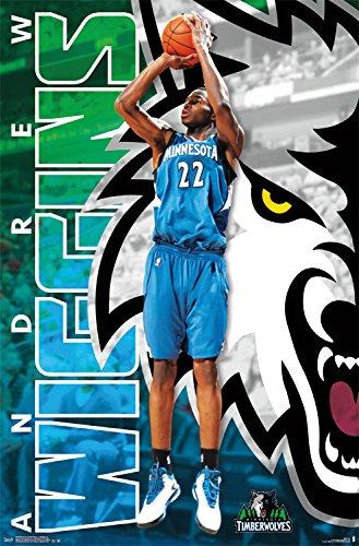 Trends International Minnesota Timberwolves Andrew Wiggins Wall Poster