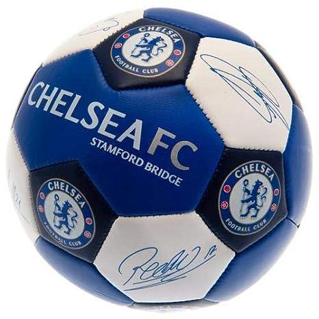 Chelsea F.C. Nuskin - Balón de fútbol (Talla 3): Amazon.es ...