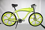 gas bicycle - Zeda Angel Roller V2 Engine-Ready Motorized Bicycle - Built In Gas Tank (Green Bicycle)