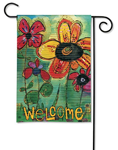 breezeart garden welcome flag
