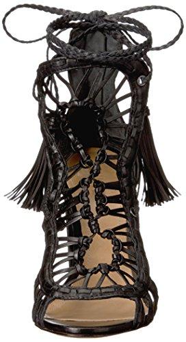 Schutz Women's Dubai Gladiator Sandal Black eiPBXPB