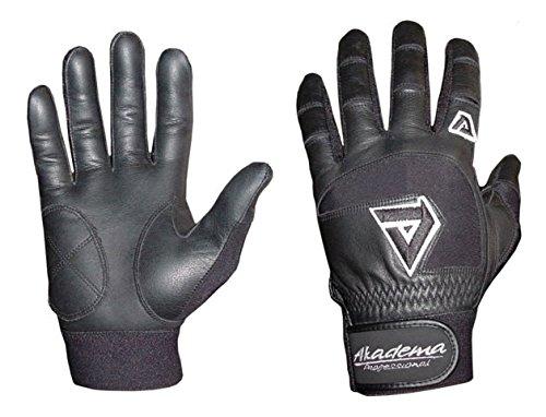 Akadema Black Professional Batting Gloves XL by Akadema