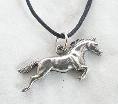 Horse pendant in fine english pewter handmade amazon horse pendant in fine english pewter handmade mozeypictures Image collections