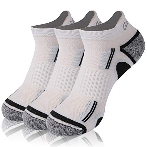 Ankle Athletic Socks, Gotops Men's Performance Athletic Ankle Running Socks