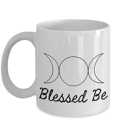 Taza de café con el símbolo de la luna: Amazon.es: Hogar