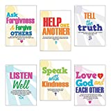 Faith Classroom Rules Poster Set