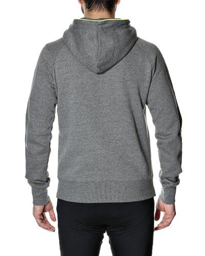 Jack & Jones Men's 'Penn' Hooded Sweatshirt Medium Gray