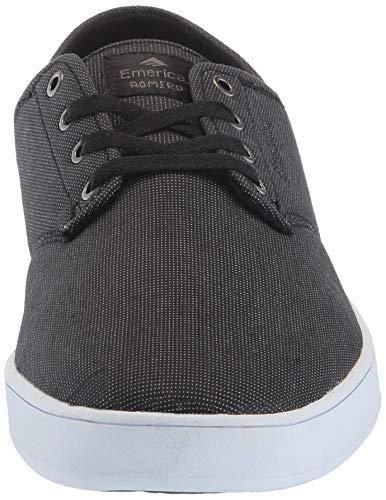 Pictures of Emerica Men's The Romero Laced Skate Shoe Dark Grey Black Gum 6