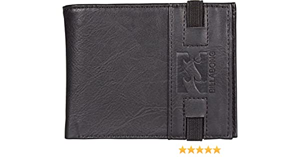 BILLABONG Locked Wallet, Bolsa y Cartera para Hombre, Negro (Black), 1x1x1 cm (W x H x L): Amazon.es: Zapatos y complementos