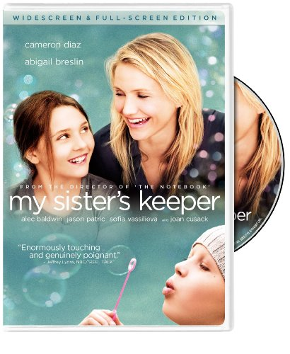 the movie riview of my sisters Movie review my sister's keeper the stage is set for drama of the courtroom, medical and familial variety, and my sister's keeper delivers it all relentlessly.
