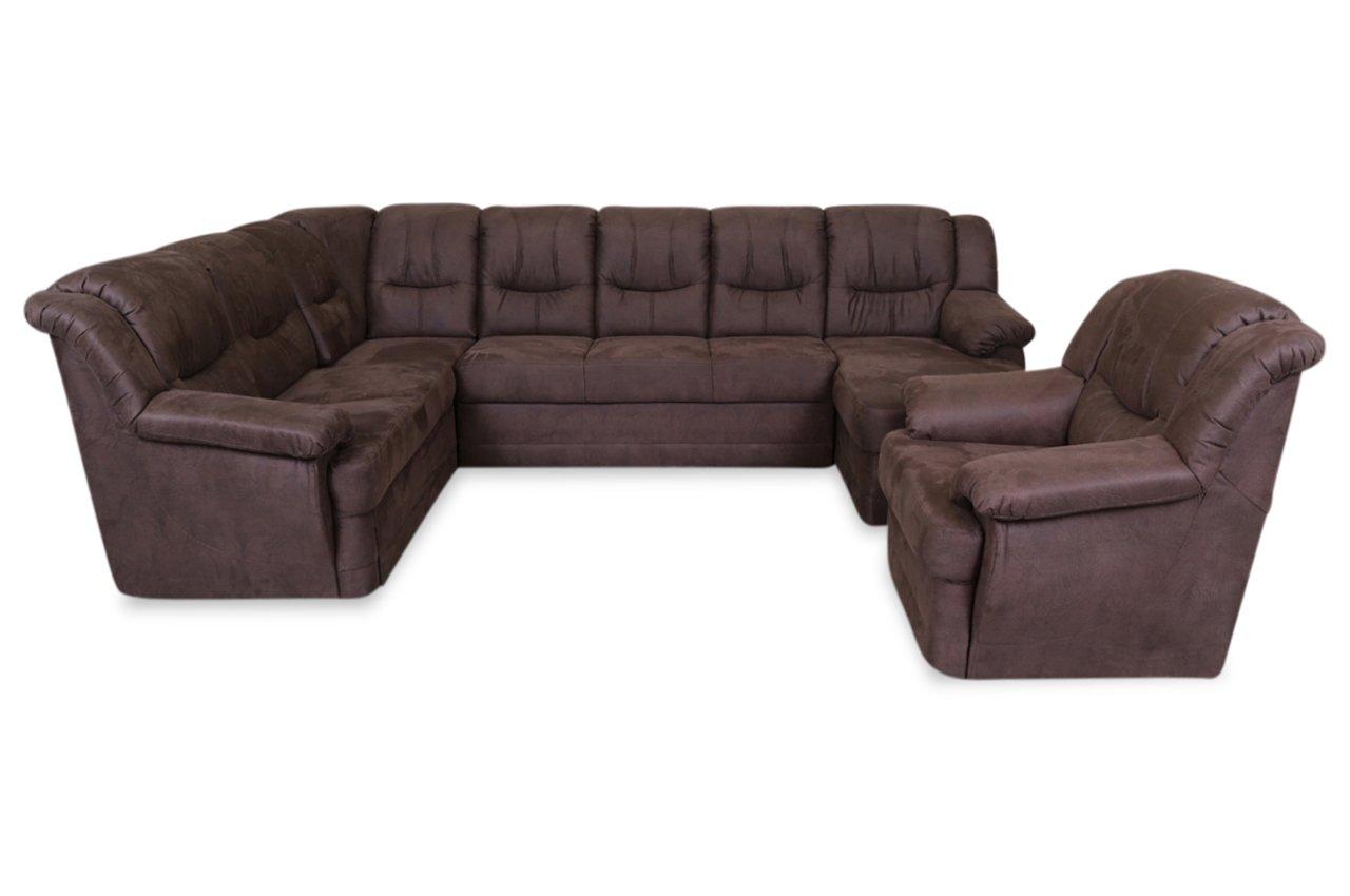 Sofa Couch Wohnlandschaft Orion Mit Sessel Mit Relax Und