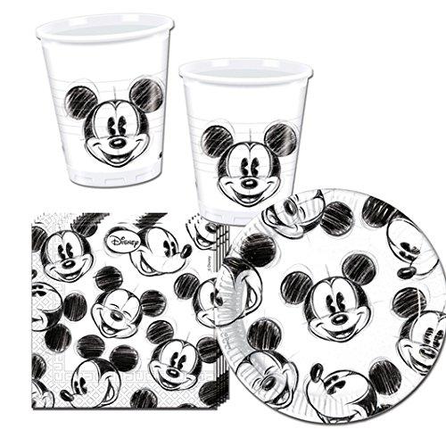 Procos 10115655Party Set 'Mickey Faces, S