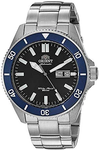 Orient Men s Kano Stainless Steel Japanese Automatic Diving Style Watch