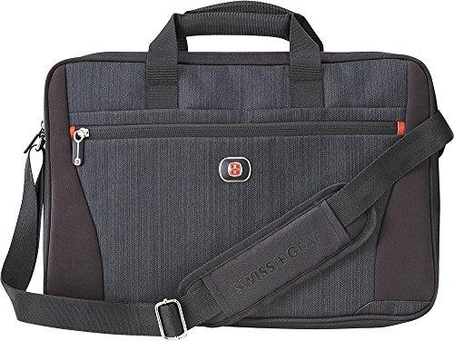 (Swissgear Structure 16 Laptop Case Blue Heather/Black)