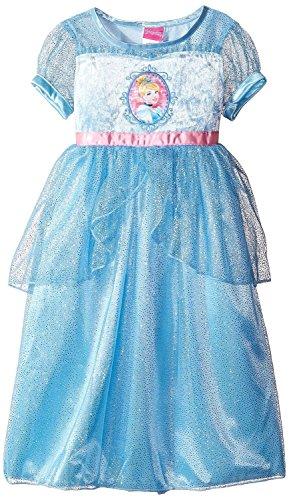 Disney Princess Cinderella Girls Fantasy Nightgown Pajamas