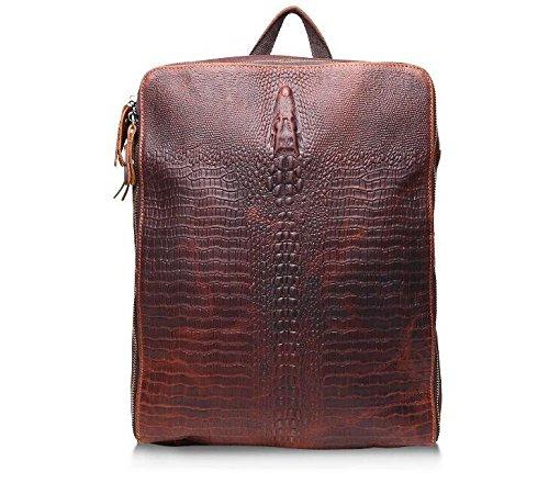 DJB/Herren Casual Fashion Krokodil shoulder-slung Tide Tasche Leder Rucksack