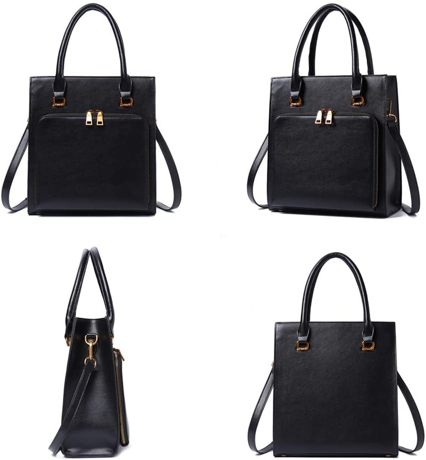 Brenice Women Solid Multifuction Handbag Work Crossbody Bag Multi-pocket Shoulder Bag Purse Green