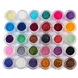 Best Matte Eye Shadows - YESURPRISE 30 Colors Glitters Shimmer Matte Mineral Eyeshadow Review