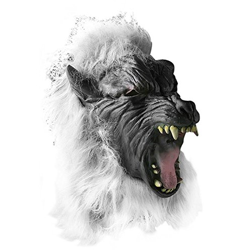 Scary Big Bad Wolf Howling Costume (Very Scary Masks For Sale)