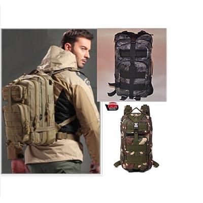 25L Molle Outdoor Hiking Rucksacks Camping Hiking Trekking Bags Fishing Backpack